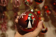 Christmas ornaments at harrods