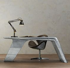 Aviator Wing Desk... Yes, just yes