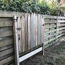 Building With Pallets – How to Easily Disassemble A Pallet In Minutes :: Hometalk. I love the gate latch and hinge on the headboard.