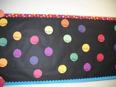 Clutter-Free Classroom: Polka Dots and Spots Themed Classrooms