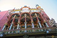 The Beautiful Palau de la Musica Catalana -Barcelona - blog - earthXplorer - travel and social media -