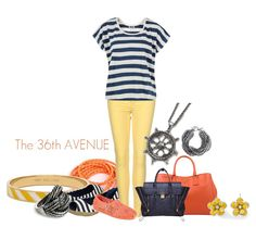 How to Wear Colored Jeans. Nautical