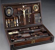 Unreal. c. 1800s vampire killing kit.