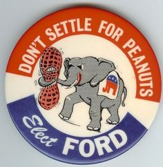 1976 Gerald Ford Campaign Button