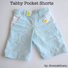 Shwin: Tabby Pocket Shorts {boys summer collection}