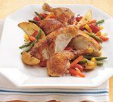 Seasoned Oven-Roasted Chicken recipe from Betty Crocker