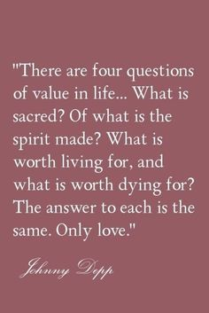 Love is the answer to all of life's most important questions! #couples #love #quotes