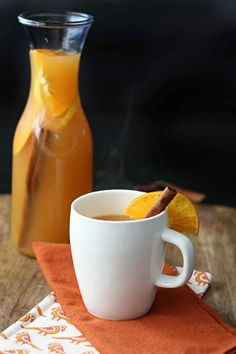Slow Cooker Citrus Cider.  Via InSockMonkeySlippers