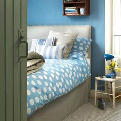 Vanessa Arbuthnott duvets - hand made with really lovely African cotton by Congolese Refugees