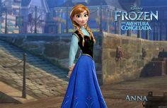 Anna (voz en inglés de Kristen Bell)
