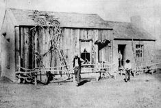 Diamond Springs Pony Express Station, Nevada. Courtesy of Nevada Historical Society Reno, NV