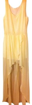 White High Low Maxi Dress By Forever 21 $26