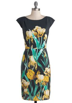 Bouquet of Brilliance Dress, #ModCloth $265. I love the style, but seems way too expensive for what it is.