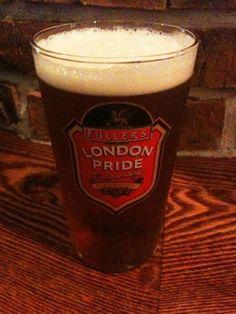 FootNICでサッカー観ながら飲むLONDON PRIDEは格別なり。
