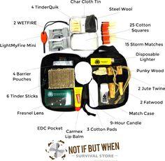 Build A Guaranteed Fire Kit