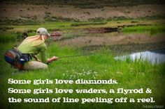 Some girls love diamonds, Some girls are just. perfect