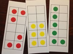 Math Coach's Corner: Using Dot Cards to Build Number Sense. There's no doubt about it...subitizing is all the rage! So, now that you've made your dot cards, how exactly do you use them?  First off, you want to develop routines for using your dot cards.  You don't want to flash a card and just have students shout out the number.  Read more and download free resources.