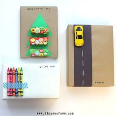 Christmas Wrapping Ideas for kids