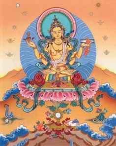 Prajnaparamita - 'perfection of Transcendent wisdom' - personified as the feminine in Tibetan Buddhism
