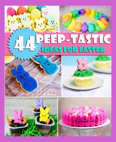 """44 Awesome """"Peep-tastic"""" things to make with #Peeps for #Easter"""