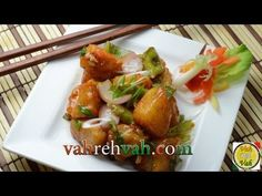 Chilli Aloo - By Vahchef @ Vahrehvah.com - YouTube  Chilli Aloo is an excellent Indo-Chinese dishes in India. Potatoes are an all time favourite ingredient for most of us. Golden fried potatoes tossed with bell peppers, onions and exotic sauce adds remarkable taste and flavour to the dish.  Reach vahrehvah at  Website - http://www.vahrehvah.com/  Youtube -  http://www.youtube.com/subscription_center?add_user=vahchef  Facebook - https://www.facebook.com/VahChef.SanjayThumma