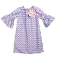 Double Lavender Chevron Charlotte Dress – Lolly Wolly Doodle