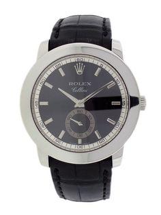 Rolex Cellini Cellinium Platinum Watch, 38mm by Rolex at Gilt