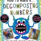 Is the thought of teaching your students about decomposing numbers make you want to SCREAM??!!!  If so, make a decomposing numbers monster to show ...