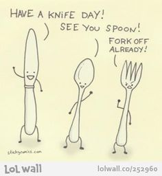 forks, laugh, spoons, funni, cutlery, humor, quot, knives, knife