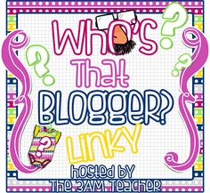 Who's That Blogger? Play and Win! {You've Got To See This!!!}