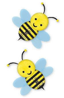 Childlike illustration of bees by Reverent Bees  http://www.sugardoodle.net/joomla/index.php?option=com_content=view=4967#