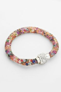 Crystal Filled Bracelet @scrapwedo
