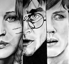 Katniss Everdeen, Harry Potter, Percy Jackson