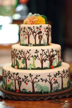 Design by the bride herself, Anna of  Rifle Paper Co.