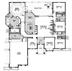 House plans on pinterest floor plans house plans and for Houseplans bhg com
