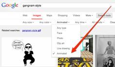 New: Find Animated GIFs In Google Image Search, Images With Transparent Backgrounds #google
