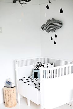 edgy baby room