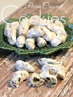 Pecan Crescent Cooki