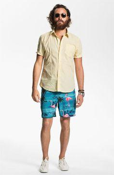 Volcom Shirt & Vans Board Shorts | Nordstrom