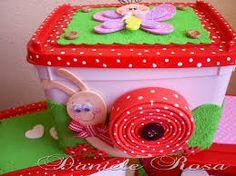 potes de sorvete decorados com tecido - Pesquisa Google