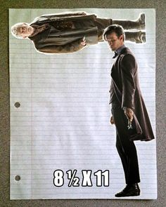 This is pure brilliance. Letter size… 8 1/2x 11 #DoctorWho