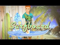 ▶ How to Make a doll Surfboard - YouTube