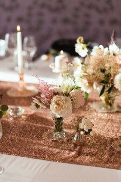 Sparkly Tablescape
