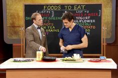 from Dr. Oz show: Alton Brown's Superfood List