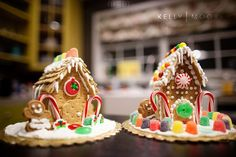 Mini Gingerbread Houses from Kelly Moore.