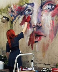 This is my favorite artist. Agnes Cecile