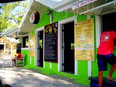 Wreck Bar Rum Point - Grand Cayman Island, The Caribbean.