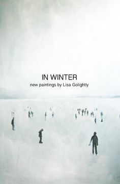 In Winter paintings by Lisa Golightly