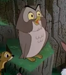 The owl from Sleeping Beauty aka, cutest critter ever!