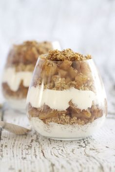 Cinnamon Apple Quinoa Parfait. Perfect!